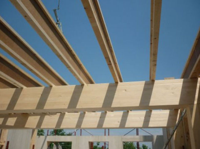 Timber Frame Monolith Wall